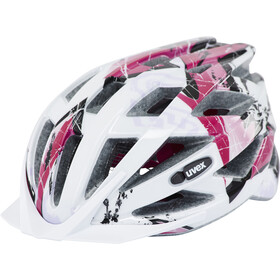 UVEX Air Wing Helmet Kids white-pink